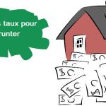 Courtier immobilier, un crédit aux meilleurs taux