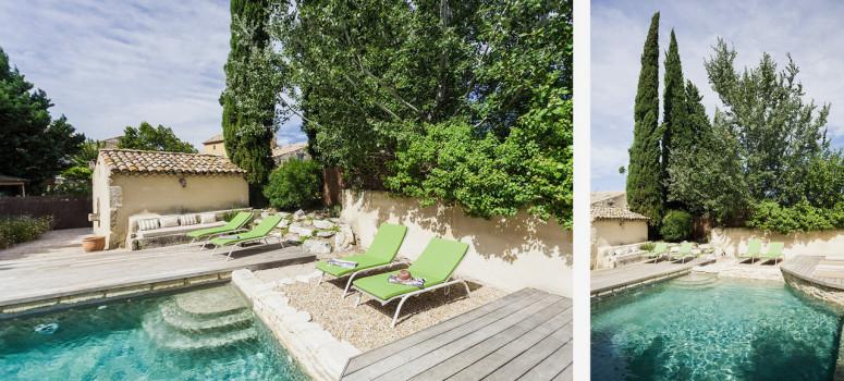 Chambre d 39 hote avec piscine proche d 39 avignon vaucluse gard - Maison d hote en alsace avec piscine ...